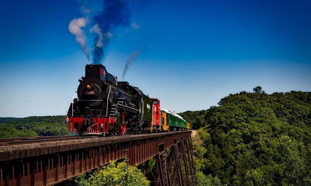 Met de trein is altijd een beetje reizen