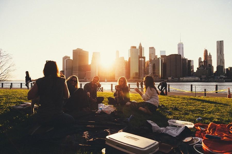 citytrip picknick