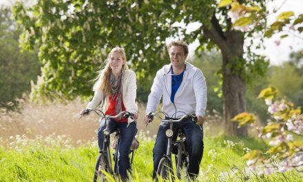 Al fietsend doorheen Europa is de nieuwe trend